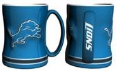 Detroit Lions Coffee Mug - 15oz Sculpted