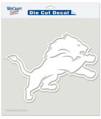 "Detroit Lions 8""x8"" Die-Cut Decal"