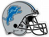 """Detroit Lions 12"""" Car Magnet"""