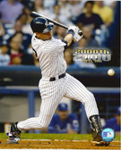 Derek Jeter New York Yankees 2000th Hit 8x10 Photo