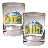 Denver Nuggets Rocks Glass Set