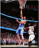 Denver Nuggets JaVale McGee 2014-15 Action 16x20 Stretched Canvas AARL213-248