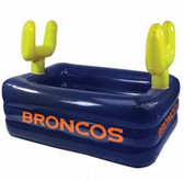 Denver Broncos Inflatable Field Swimming Pool
