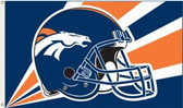 Denver Broncos 3 Ft. x 5 Ft. Flag w/Grommets