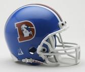 Denver Broncos 1975-1996 Throwback Riddell Mini Football Helmet