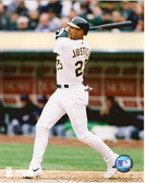 David Justice Oakland Athletics 8x10 Photo #2