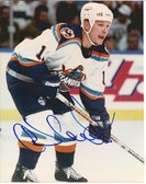 Darius Kaspairitis New York Islanders Signed 8x10 Photo