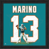Dan Marino Miami Dolphins 20x20 Framed Uniframe Jersey Photo