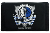 Dallas Mavericks Nylon Trifold Wallet
