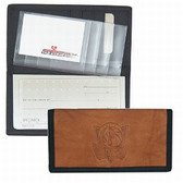 Dallas Mavericks Leather/Nylon Embossed Checkbook Cover