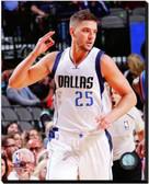 Dallas Mavericks Chandler Parsons 2014-15 Action 40x50 Stretched Canvas AARM174-252