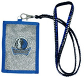 Dallas Mavericks Beaded Lanyard Wallet