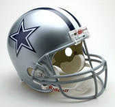 Dallas Cowboys Riddell Full Size Deluxe Replica Football Helmet
