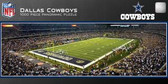 Dallas Cowboys Panoramic Stadium Puzzle