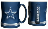 Dallas Cowboys Coffee Mug - 15oz Sculpted