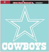 "Dallas Cowboys 8""x8"" Die-Cut Decal"