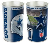 "Dallas Cowboys 15"" Wastebasket"