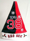 Curt Schilling Boston Red Sox Santa Hat