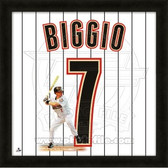 Craig Biggio Houston Astros 20x20 Framed Uniframe Jersey Photo