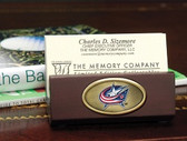 Columbus Blue Jackets Business Card Holder