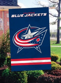 Columbus Blue 2 Sided Banner Flag
