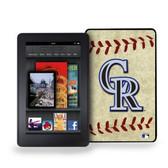 Colorado Rockies Kindle Fire Vintage Baseball Cover