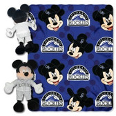 Colorado Rockies Disney Hugger Blanket