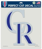 "Colorado Rockies Die-Cut Decal - 8""x8"" Color"