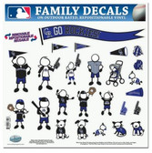 "Colorado Rockies 11""x11"" Family Decal Sheet"