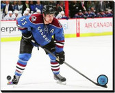 Colorado Avalanche Cody McLeod 2014-15 Action 40x50 Stretched Canvas
