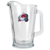 Colorado Avalanche 60oz Glass Pitcher