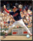 Cleveland Indians Jack Morris Action 40x50 Stretched Canvas