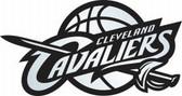 Cleveland Cavaliers Silver Auto Emblem