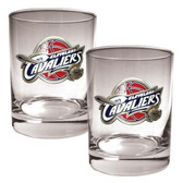 Cleveland Cavaliers Rocks Glass Set