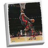 Cleveland Cavaliers Lebron Dunk Stretched 32x40 Canvas