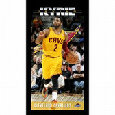 Cleveland Cavaliers Kyrie Irving Player Profile Wall Art 9.5x19 Framed Photo