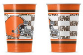 Cleveland Browns Disposable Paper Cups