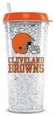 Cleveland Browns Crystal Freezer Travel Tumbler