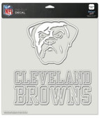 "Cleveland Browns 8""x8"" Die-Cut Decal"