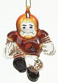 "Cleveland Browns 3"" Crystal Halfback Ornament"