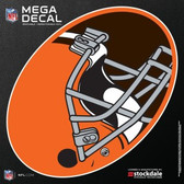 "Cleveland Browns 12""x12"" Mega Decal"