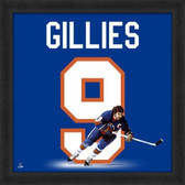 Clark Gillies New York Islanders 20x20 Framed Uniframe Jersey Photo