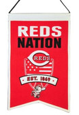 Cincinnati Reds Wool Nations Banner