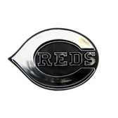 Cincinnati Reds Silver Auto Emblem