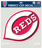 "Cincinnati Reds Die-Cut Decal - 8""x8"" Color"