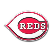 Cincinnati Reds Color Auto Emblem - Die Cut