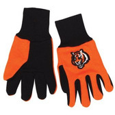 Cincinnati Bengals Two Tone Gloves - Youth Size