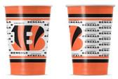 Cincinnati Bengals Disposable Paper Cups