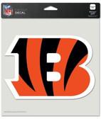 "Cincinnati Bengals Die-Cut Decal - 8""x8"" Color"