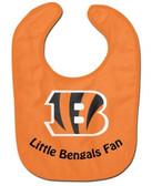 Cincinnati Bengals Baby Bib - All Pro Little Fan
